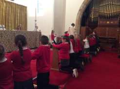 Our first Eucharist Service
