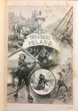 Treasure Island - assorted illustrations