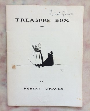 'Treasure Box' - title page, including a doll-like illustration