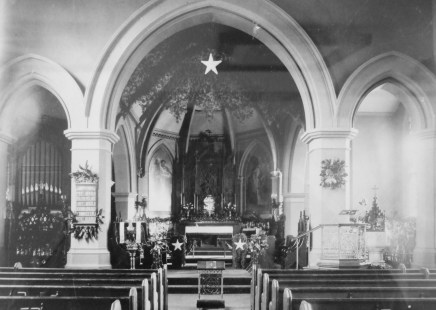St. John's - Chancel Historic (B&W)