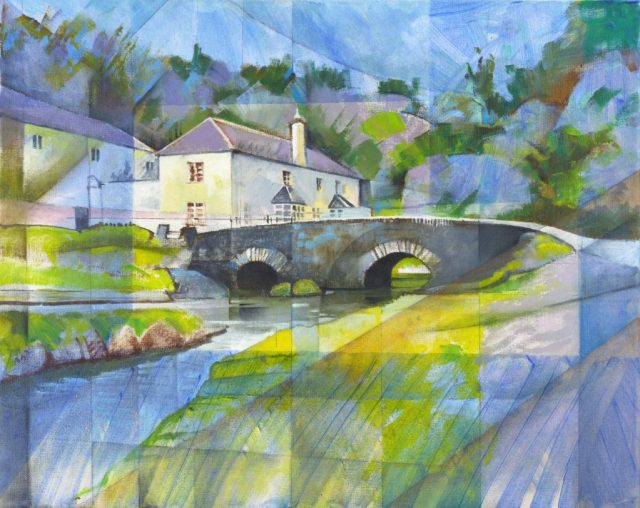 Painting copyright Bernard Barnes