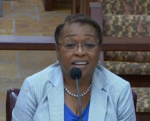 PERB nominee Annie Day Henry at her confirmation hearing July 13, 2017