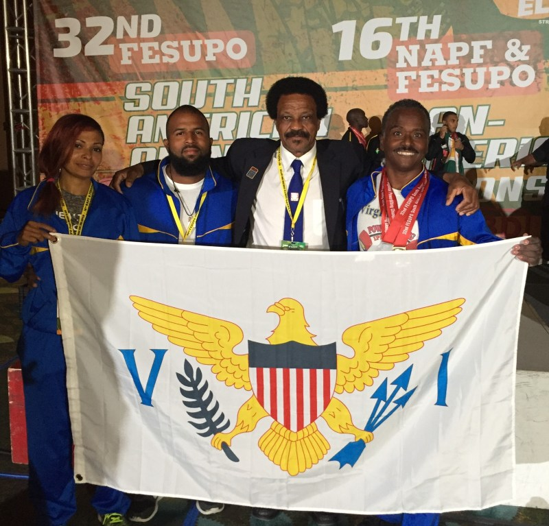 Virgin Islanders Compete in Florida at North American-Pan American Powerlifting Championship