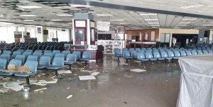 The Cyril E. King Airport took heavy damage from Irma. (Facebook photo)