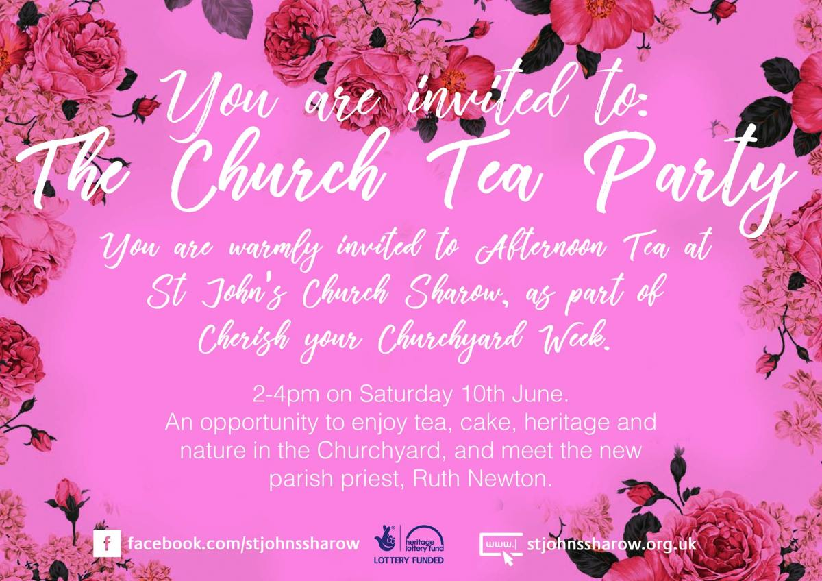 cherishing church tea party