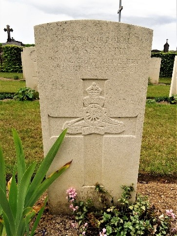 arthur smith grave at daours
