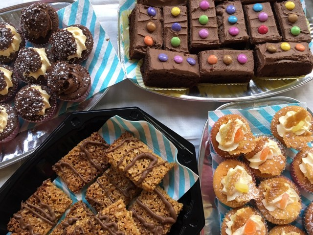 coffee morning - home made cakes