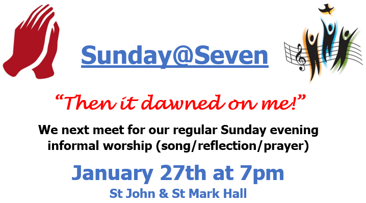 sunday@seven - then it dawned on me