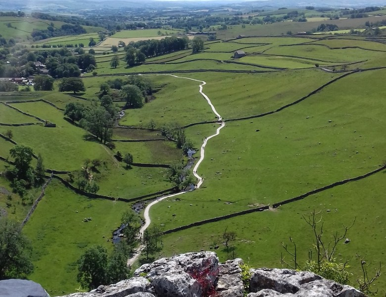 Walking in Malham