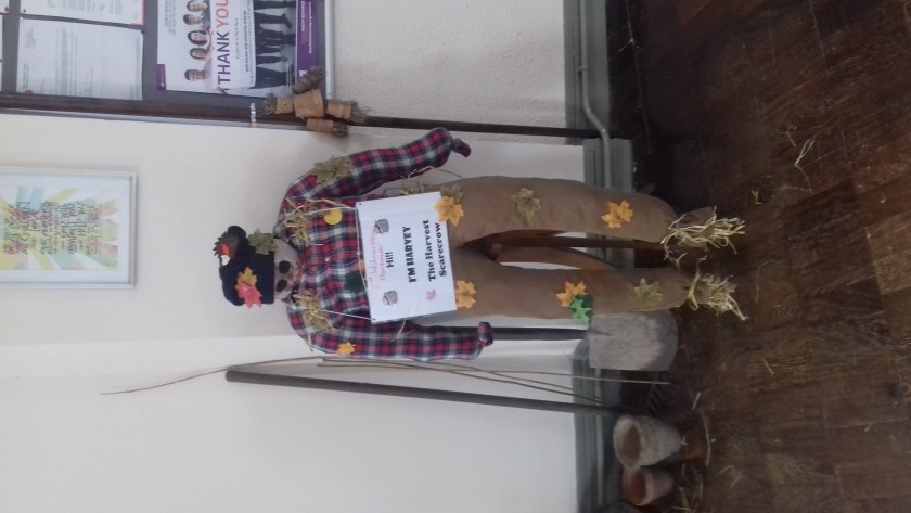 Harvey - we now have 2 scarecrows thanks to Walmersley Brownies