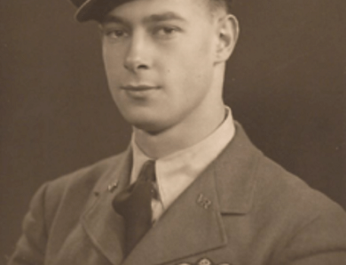 Pilot Officer James Desmond Aspin DFM