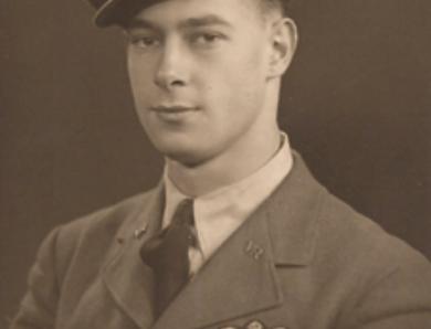 Pilot Officer James Desmond Aspin DFM