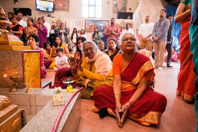 One of the photos, taken at Highgate Hill Murugan Temple. Credit: Andy O'Carroll