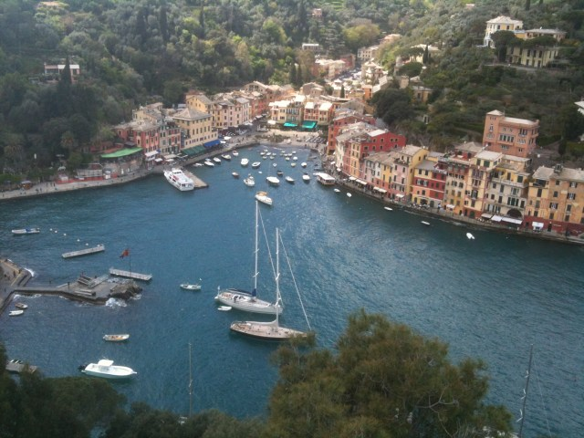 The city of Portofino on the Italian Riviera. © Xavier Gomez
