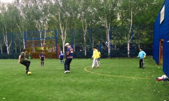 Video: Down at the park – What does it take to become a football pro?