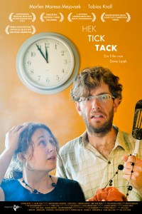 A poster for 'HEK TICK TACK'