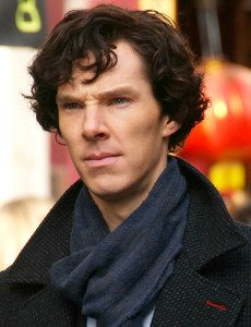 Benedict Cumberbatch as Holmes in the TV series Sherlock