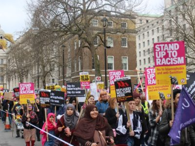 Tragic Irony: The London anti-racism march held in the week of the Westminster attacks