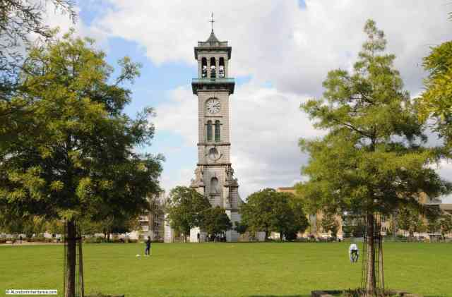 Caledonian Park now houses a refurbished clock tower (Image Credit: A London Inheritance)
