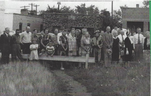 St Johns Ground Breaking 1952