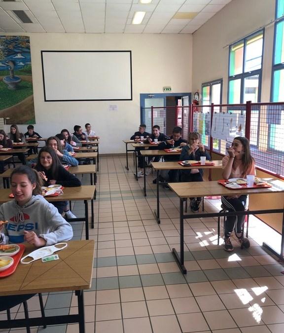 A St Jo, les élèves de 6è et 5è ont retrouvé le chemin de l'école !