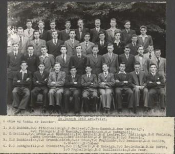 Leaving Cert Class of 1953