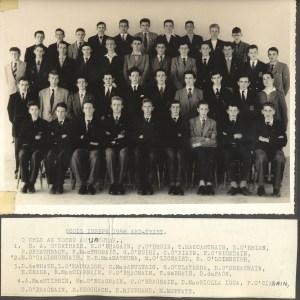 Class photograph, 1958