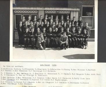 Leaving Cert Class of 1962
