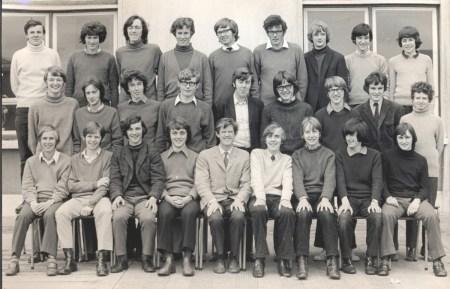 Leaving Cert Class of 1971 6A