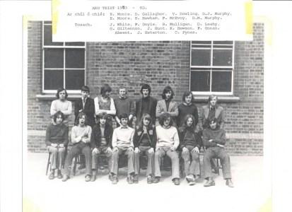 Leaving Cert Class of 1969 6D