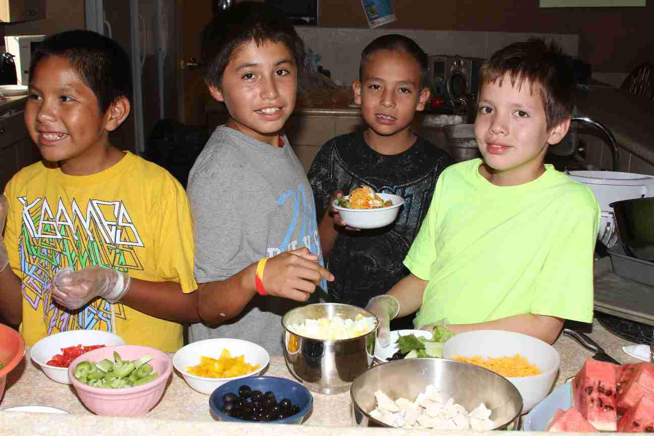 Helping Native American Children St Josephs Indian