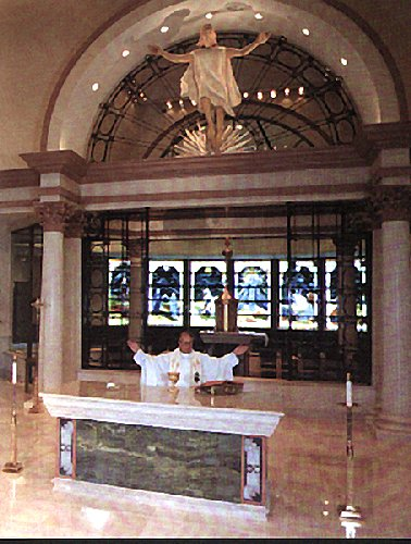 The Altar and Accompanying Furnishings  St Josephs
