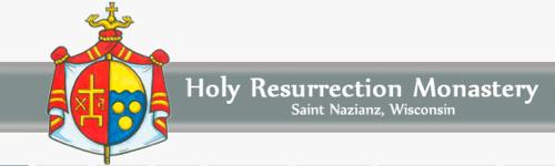 Friends of St. Joseph parish, the monks of Holy Resurrection Romanian Catholic Monastery in St. Nazianz Wisconsin