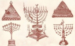 Various Menorahs of Hanukkah