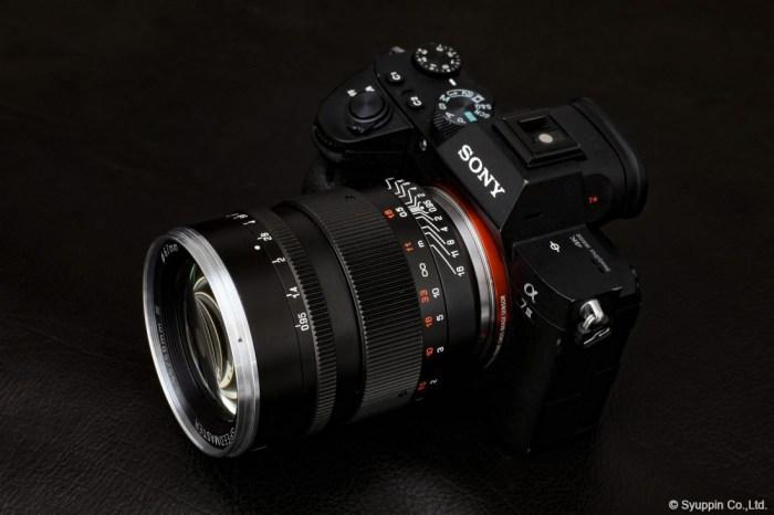 Kasyapa 中一光学 SPEEDMASTER 50mm F0.95 III