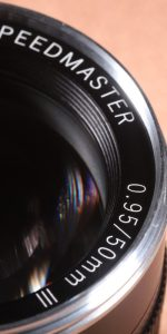SPEEDMASTER 50mm F0.95 III