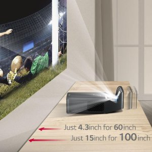 LG PF1000U ultra short throw smart home theater projector 1