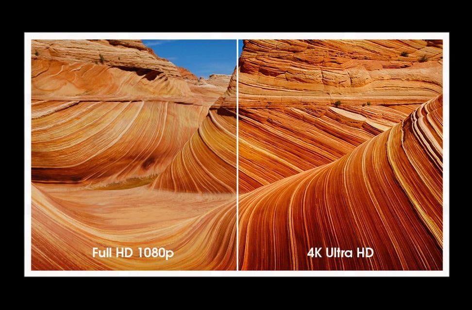 1080p and 4K 2