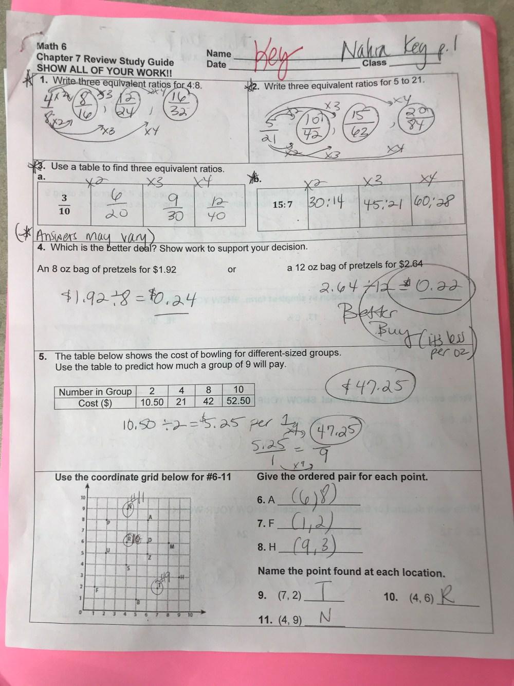 medium resolution of Math - 6th Grade Website