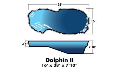 """Dolphin 2 16' x38' x 7'10"""""""