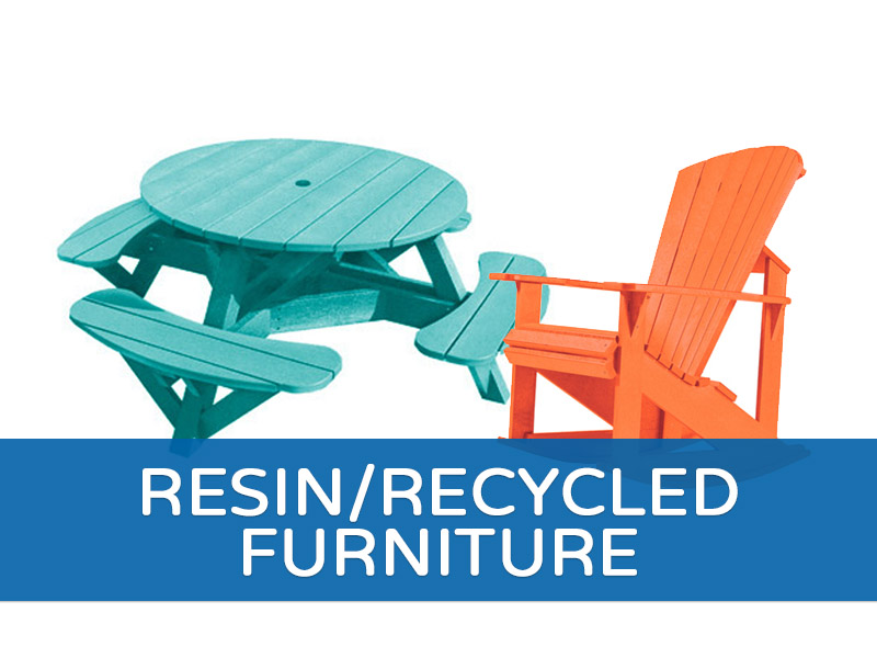 Resin/Recycled Furniture