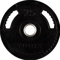 2″ G-2 Rubber Olympic Weight Plate 25lb