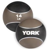 York Barbell 14lb Medicine Ball