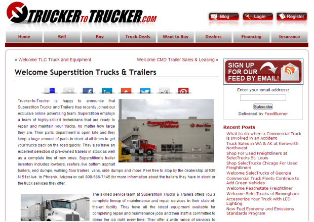 trucker to trucker featured