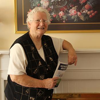 Sister Pauline Lorch, OSU web