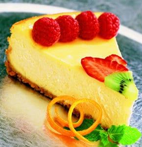 Sunburst Cheesecake