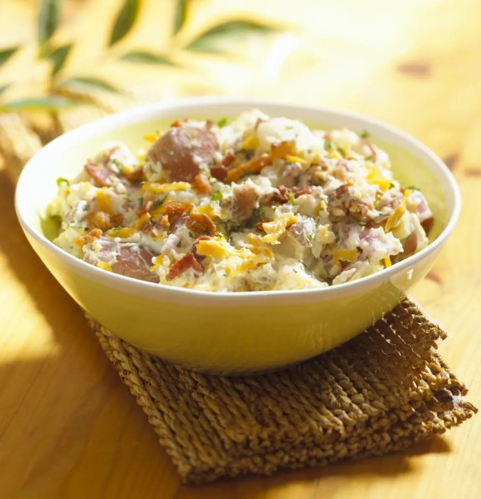 Quick and Healthy Baked Potato Salad