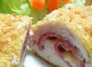 Thiseasy Chicken Cordon Bleuis a family favorite stuffed with ham and melted cheese! An easy to make and elegant entree