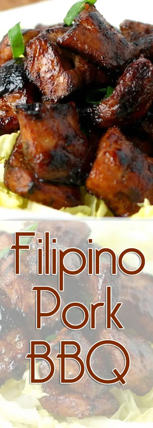 Heaven on a stick. Crunchy on the outside. Caramelized. Sweet, sour, and salty at the same time. That's Filipino Barbikyu.