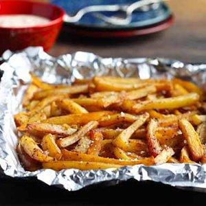 Sweet Potato Fries with Cajun Dipping Sauce